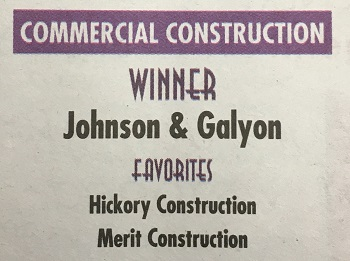 2016 Best of Knoxville Commercial Construction